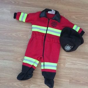 Other - Fleece firefighter costume